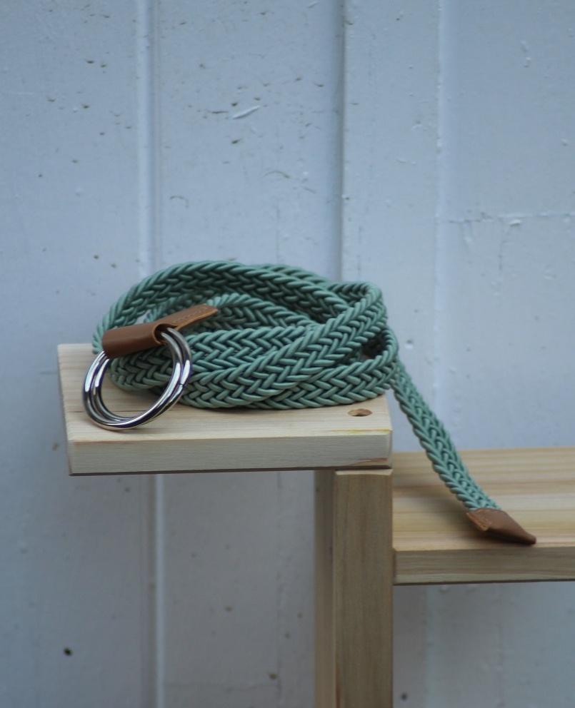 Cinturón verde menta