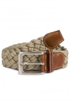 Cinturón cuerda trenzada Desert
